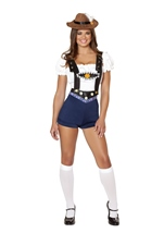 Bodacious Beer Babe Woman Costume