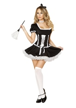 Mischievous Maid Women Costume