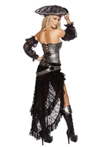 Adult Deadly Pirate Captain Woman Costume