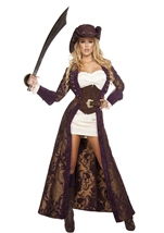 Decadent Pirate Diva Woman Deluxe Costume