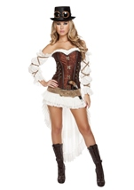 Steampunk Babe Woman Deluxe Costume
