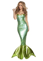 Mermaid Sea Creature Woman Costume