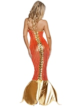 Adult Mermaid Seductive Sea Siren Woman Costume