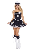 Sailor Naughty Navy Yard Vixen Costume