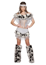 Native American Indian Maiden Woman Costume