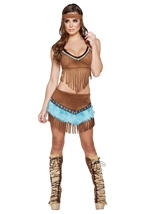Native American Beautiful Indian Babe Costume