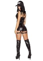 Swat Agent Woman Police Halloween Costume