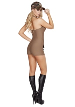 Sultry Soldier Woman Army Halloween Costume