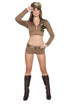 Soldier Babe Woman Army Costume
