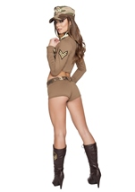 Adult Soldier Babe Woman Army Costume
