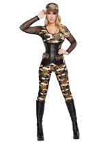 Army Soldier Woman Costume