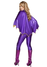 Bat Warrior Woman Catsuit Halloween Costume