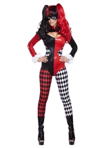 Villainous Vixen Woman Catsuit Halloween Costume
