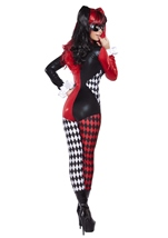 Adult Villainous Vixen Woman Catsuit Costume