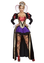 Adult Heartless Queen Woman Deluxe Costume