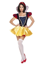 Sultry Snow Woman Princess Costume