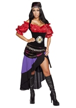Gorgeous Gypsy Woman Halloween Costume