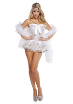 Flirty Flapper Woman Deluxe Costume