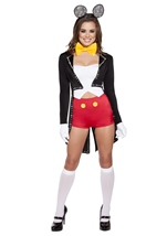 Adult Mousy Maiden Woman Costume
