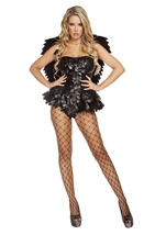 Adult Dark Angel Woman Costume