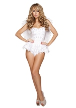 Adult Angel Deluxe Woman Costume