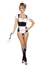 Maid Cleaning Maiden Woman Costume