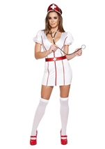 Nurse Caretaker Cutie Woman Halloween Costume