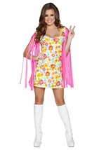 Adult Wild Woodstock Babe Woman Costume
