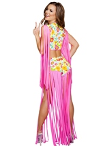 Foxy Flower Child Woman Halloween Costume