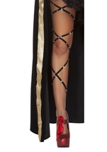 Rhinestone Thigh High Wraps