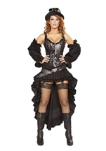 Steampunk Maiden Woman Costume