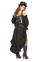 Adult Steampunk Maiden Woman Costume