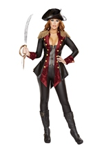 Adult Adventurous Pirate Woman Costume