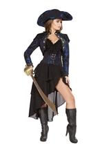Pirate Captain Woman Costume