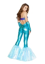 Mermaid Vixen Woman  Halloween Costume