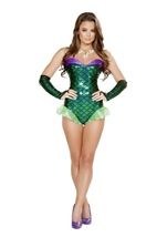 Adult Green Mermaid Woman Costume