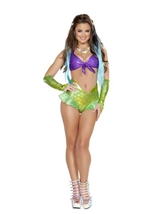 Mermaid Woman Costume