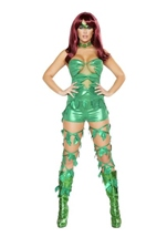 Leaflet Queen Woman Costume