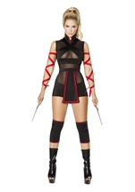 Ninja Striker Woman Costume