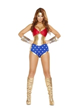 Mighty comic Hero Woman Costume