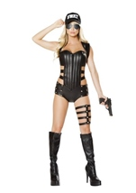 Swat Woman Costume
