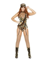 Sargent Woman Army Costume