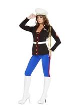 Adult Marine Corporal Woman Costume