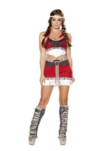 Lusty Tribal Temptress Woman Costume