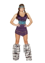 Tribal Hottie Woman Halloween Costume