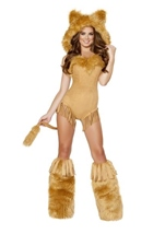 Vicious Lioness Woman Costume