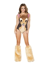 Sweet Deer Woman Costume