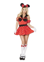 Adult  Miss Mousey Woman Costume