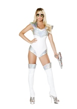 Adult Space Soldier Woman Costume