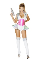 Space Alien Buster Woman Halloween Costume